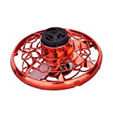 KEYDI Flying Toy Mini Drone for Kid, Balle Volante Hand Drone Portable, Jouet Mini UFO Drone Enfant, USB Rechargeable LED Boules Volant D'induction Cadeaux - Rouge, Bleu