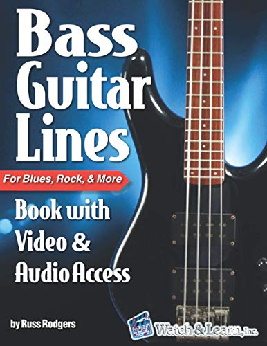 Bass Guitar Lines: Book with Video & Audio Access