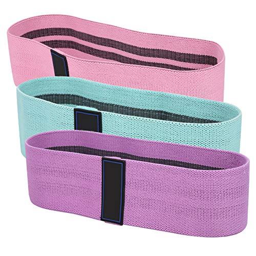 Omabeta Cinturón de resistencia de fitness elástico profundo sentadilla látex elástico cinturón accesorio de yoga aplicable para cuerpo radical medio