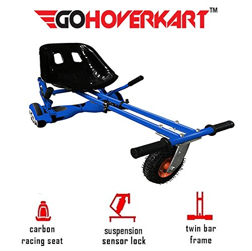 GoHoverkart The Official Suspension & Springs Hoverkart - Amortiguador, Color Azul