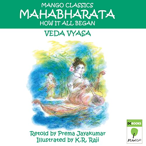 The Mahabharata audiobook cover art
