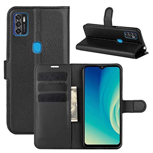 betterfon   ZTE Blade A7s 2020 Handyhülle Hülle Handy Tasche PU Leder Schutzhülle mit Magnetverschluss/Kartenfächer für ZTE Blade A7s 2020 Schwarz