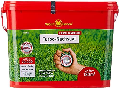 WOLF Garten Turbo-NACHSAAT 3826121 LR 120, ROT