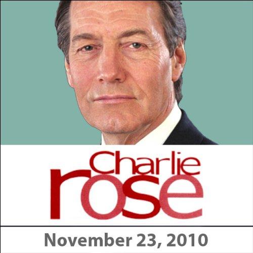 Charlie Rose: David Sanger, Steve Martin, and V.S. Naipaul, November 23, 2010 audiobook cover art