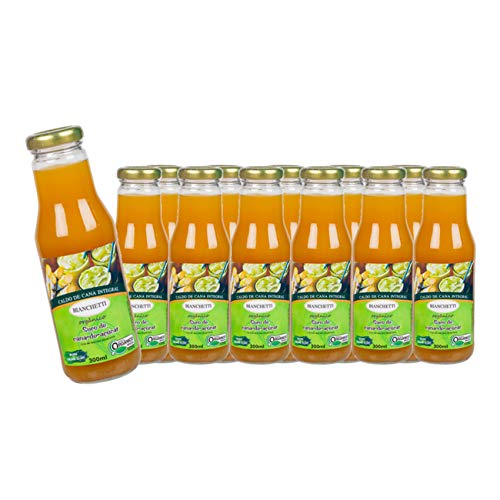 12 x Zuckerrohrsaft aus Brasilien, Flasche 250 ml- Kanai Suco de Cana