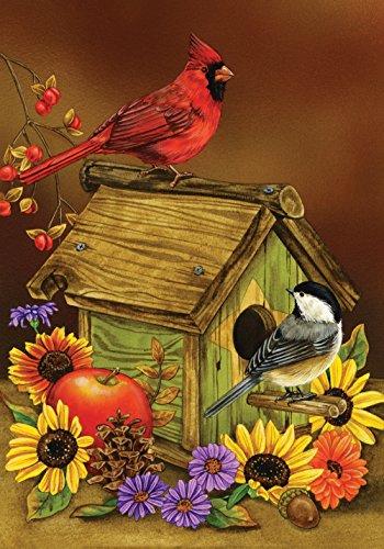 Toland Home Garden 101221 Autumn Melody 28 X 40 Decorative USA-Produced House Flag