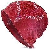 Tracray Bonnet Unisexe Valentine 'S Day Skine Cap Baggy Oversize Bonnet en Tricot Noir