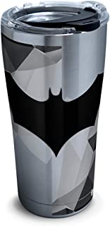Tervis 1312109 DC Comics - Batman Lineage Stainless Steel Insulated Tumbler with Lid, 20 oz, Silver
