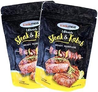 KwikMeal Ultimate Steak & Kabob Ready Marinade Pack of 6 - $30.43 - Unit Price $5.07