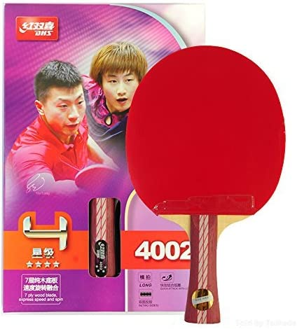 DHS Discount mail order Ping San Diego Mall Pong Table Tennis Racket Lo Star 4 Shakehand Paddle Bat
