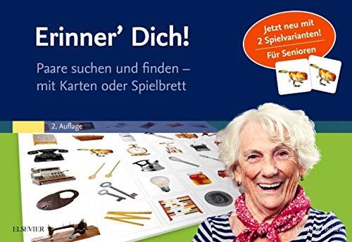 Urban & Fischer/Elsevier Erinner' Dich!: Paare suchen und Finden – mit Karten oder Spielbrett