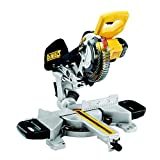 <span class='highlight'><span class='highlight'>DEWALT</span></span> DCS365N-XJ XR 184 mm Mitre Saw with XPS-Bare Unit, 590 W, 18 V, Yellow
