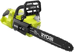 Ryobi 14 in. 40-Volt Baretool Brushless Lithium-Ion Cordless Chainsaw, 2019 Model..