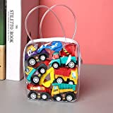 Auto modelo 6 Uds, Modelo De Coche De Juguete, Juguetes Para Coche, Vehículo Móvil, Camión De Bomberos, Taxi, Modelo Chico, Mini Coches, Juguetes Para Niños, Juguete De Regalo Para Niños
