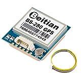 GPS modulo ricevitore GPS a bassa potenza ad alta sensibilità memorizzazione permanente con antenna integrata e connettore per 51 microcontroller STM32 UNO R3 Arduino e scene all'aperto