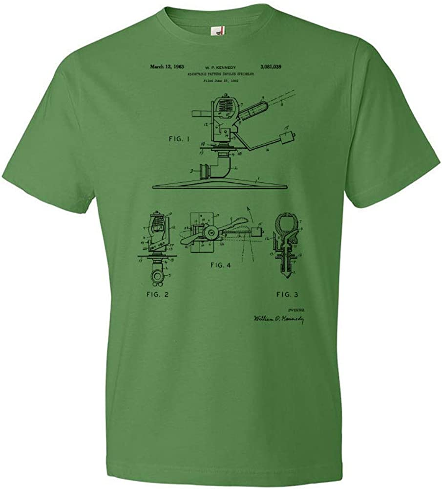 Impulse Sprinkler T-Shirt We OFFer at cheap prices Ranking TOP6 Blueprint Lawn Care L Tee