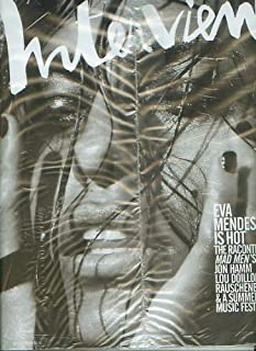 Interview Magazine (August, 2008) Eva Mendes Cover