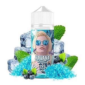 E-Liquid ICE | 100ML TPD | HAVANA DREAM ICE | Sin Nicotina: 0MG | E-Liquido para Cigarrillos Electronicos - E Liquidos para Vaper 70/30