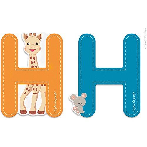 Lettre H Sophie la girafe - Janod