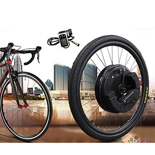 GJZhuan IMortor 3.0 De Bicicleta Eléctrica De 36V 350W del Camino De MTB Bici del Motor con La Bici De La Batería Frontal del Motor Eléctrico Kit De Conversión De Ebike Kit Bluetooth