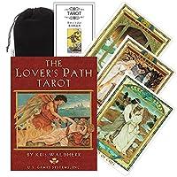 Kancharo タロットカード 78 枚 タロット占い【ラバーズ パス タロット The Lover's Path Tarot Cards】日本語説明書&ポーチ付き(正規品)