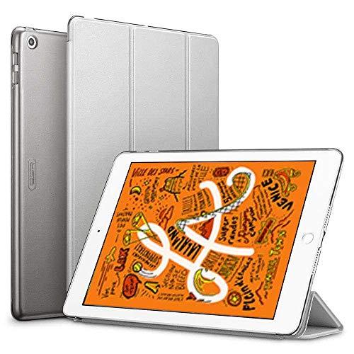 ESR- Yippee Silicone Case – Silicone Folder Compatible with i Pad Mini (2019) Smart Folio Case – Grey