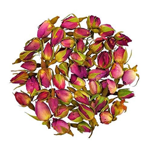 Rosenblüten Rosenknospen Tee Rosentee Getrocknet Echt, Rosenblütentee aus Echter Rose, TeaClub Kräutertee