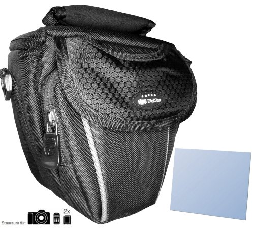 Zubehör Starterset für Samsung NX Mini - Schicke Kamera Tasche - mit passgenauer equipster Folie