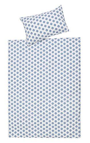 Schardt 13 609 1/761 Parure de lit pour enfant 2 pièces Circle star, bleu.