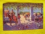 Antigua Postal - Old Postcard : Un ventorrillo - SEVILLA. Diseño M.Bertuchi