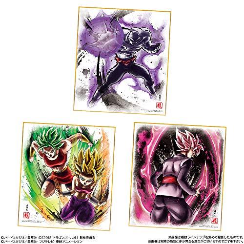 ドラゴンボール 色紙ART7 (10個入) 食玩・ガム (ドラゴンボール超)