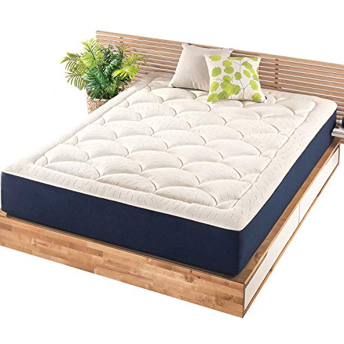 Mellow 12 Inch Marshmallow Mattress - Plush Memory Foam...