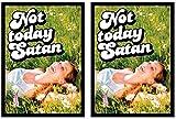 100 Legion Supplies Not Today Satan Deck Protector Sleeves