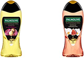 Palmolive Bodywash Luminous Oils Invigorating Shower Gel - 250ml and Palmolive Bodywash Luminous Oils Rejuvenating Shower ...
