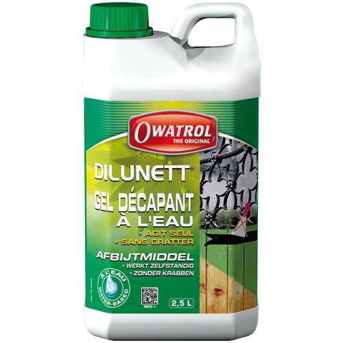 Owatrol Dilunett Farbentferner, 2,5 Liter