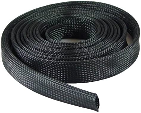 ACCL Expandable Braided Cable Sock Black 3 Special Max 63% OFF sale item 100Ft 2