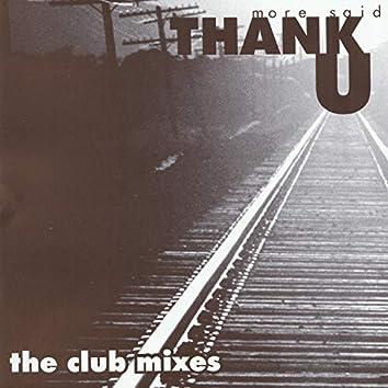Thank U - The Club Mixes