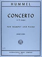 フンメル : トランペット協奏曲 変ホ長調/インターナショナル・ミュージック社/ピアノ伴奏付ソロ