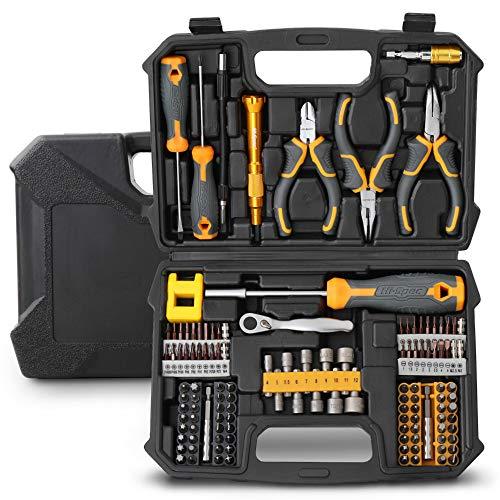 Hi-Spec Werkzeugsatz für Haus und Garage. Vollständige Reparatur- und Wartungshandwerkzeuge für Haushalt, Büro und Werkstatt.
