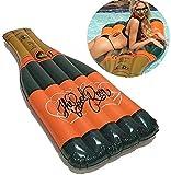QWE Juguetes Seguros Piscina Inflable Grande Botella de Champagne Piscina flotadores for Adultos Piscina Salón de Flotador for la Playa, la Fiesta, de Vacaciones JHKK