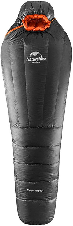 Cotangle Schlafsack Schlafsack-weie Ente-unten Starke warme Wilde tragbare Mama-einzelner Breathable Schlafsack passend für Kampieren im Freien