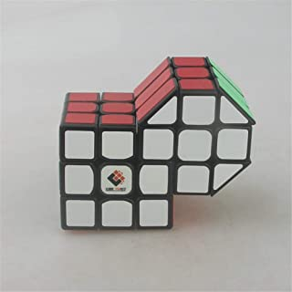 High quality Velocity Cubes, Fangyuan Two-connected Six-Connected Rubik Cube Three-order Two-in-One Conjoined Puzzle Cubes...
