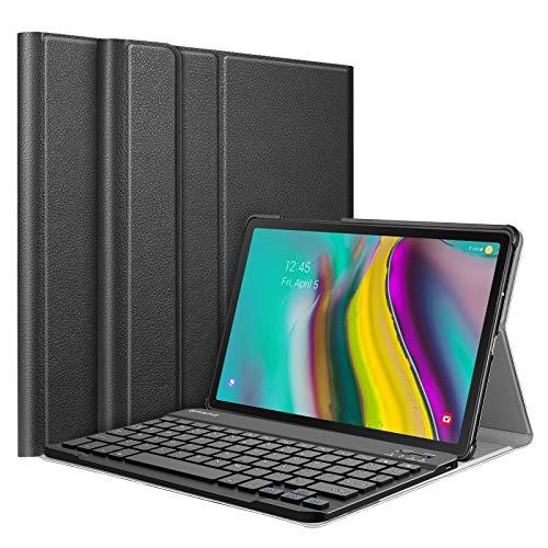 Fintie Keyboard Case for Samsung Galaxy Tab S5e 10.5 2019 Model SM-T720(Wi-Fi) SM-T725(LTE) SM-T727(Verizon/Sprint), Slim Stand Cover w/Detachable Wireless Bluetooth Keyboard, Black