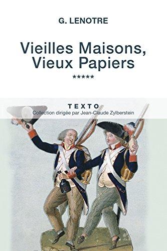 Vieilles Maisons, Vieux Papiers Tome 5 (Texto) (French Edition)