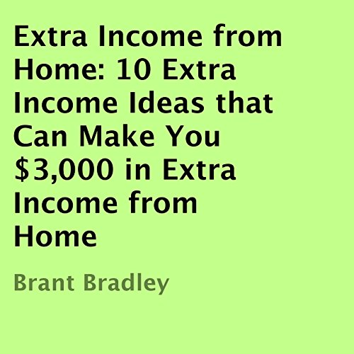 Extra Income From Home audiobook cover art