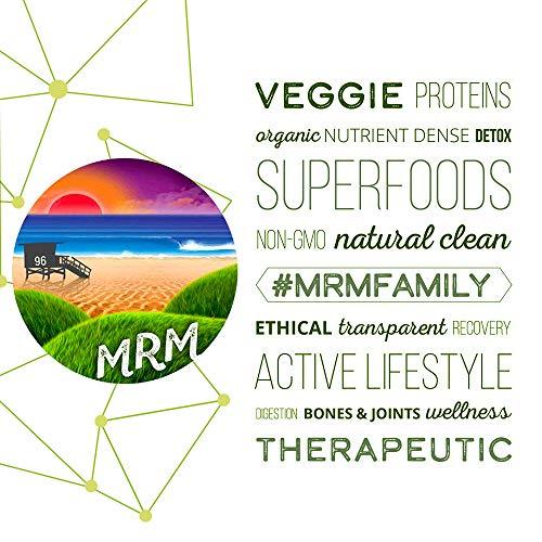MRM - Veggie Protein Powder, Protein Source for Vegans, Gluten-Free