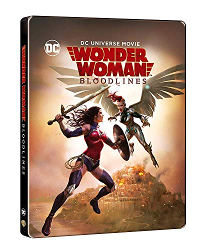 Amazon.com: Wonder Woman: Bloodlines (Blu-ray/DVD/Digital ...
