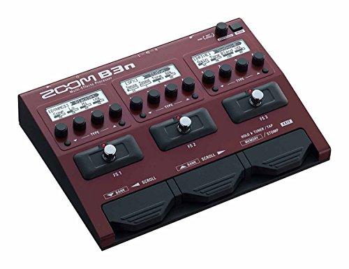 ZOOM ズーム ベース用マルチエフェクツ・プロセッサー B3n