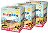 Smart Baking Company Smartmuf'n, Gluten-free, Sugar-free Keto Snack Breakfast Muffin (Chocolate Chip, 3 Boxes)