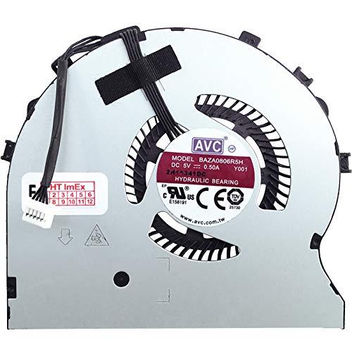 Refrigerador ventilador ventilador ventilador ventilador versión derecha compatible para Lenovo ThinkPad Yoga 460, 460 (20EL), 460 (20EM)